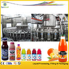 Stainless Steel Hot Filling Machine , Pulp Juice Filling Equipment