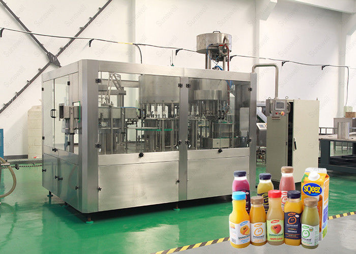 Energy drinks, soda water beverage bottling equipment machine with 40 heads 10KW