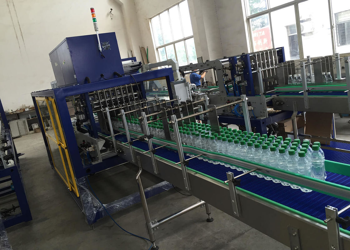 Commercial Case Box Shrink Packaging Equipment Carton Sealer Packer For Bottles