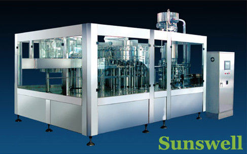 Stainless Steel Tea Filling Machine 3-In-1 Monoblock With 7000BPH