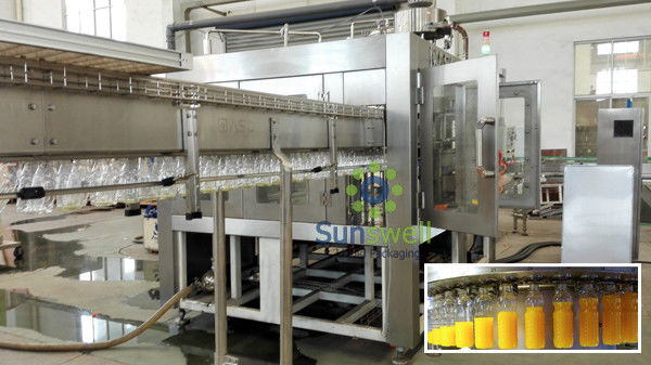 High capacity Monoblock Filling Machine Rotary with PET Bottle